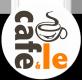 Cafe & Le Logotyp