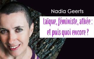 conférence Nadia Geerts