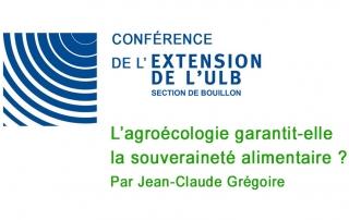 Conférence extension de l'ULB (section de Bouillon)