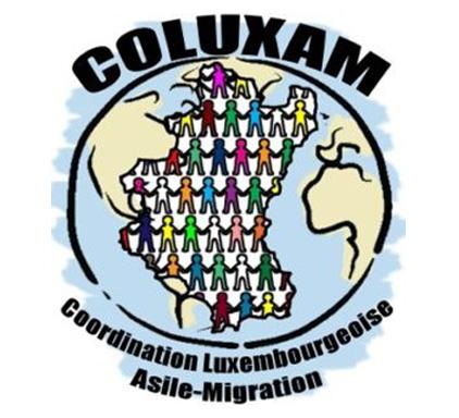 La COLUXAM (Coordination Luxembourgeoise Asile Migration) a vu le jour en 2008. Aujourd'hui, elle réunit une vingtaine d'associations, de mouvements d'éducation permanente, d'organisations non-gouvernementales, … qui militent pour défendre une politique migratoire plus respectueuse des droits humains.