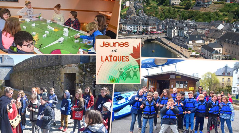 Stage Jeunes et Laïques à Bouillon