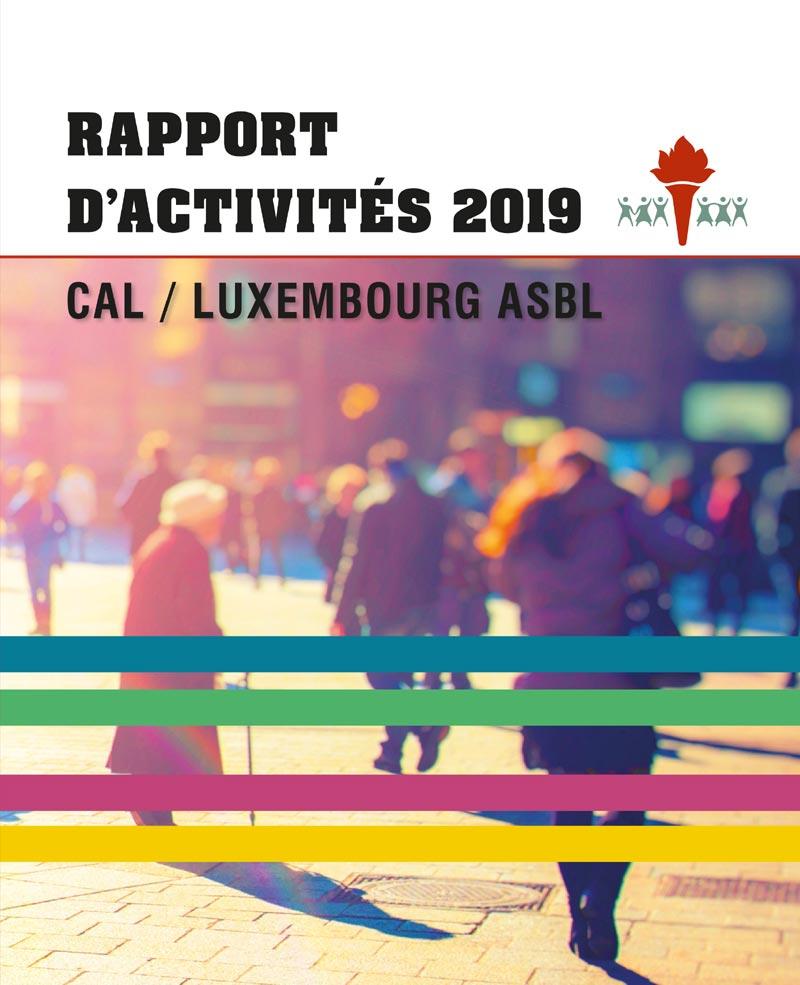 Découvrez le rapport d'activités de l'année 2019 du CAL/Luxembourg