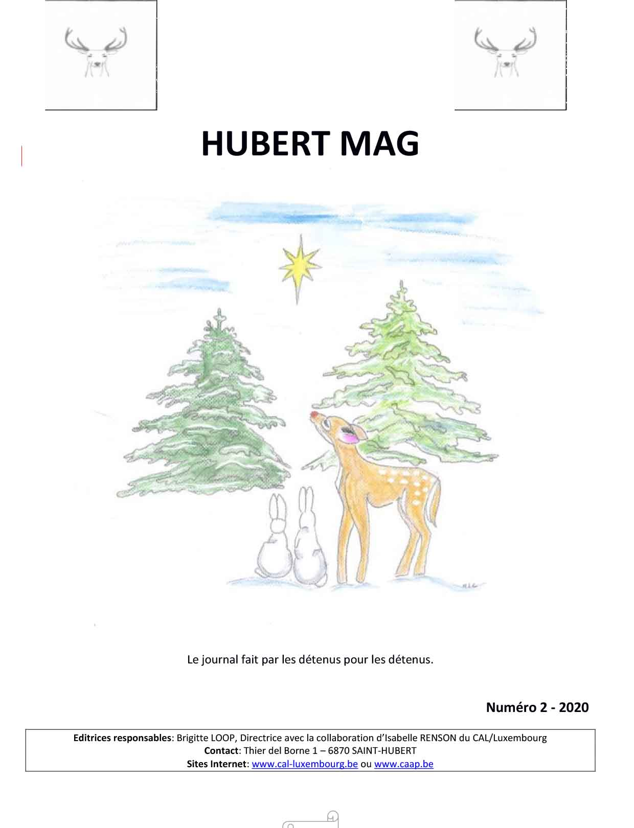 Couverture Hubert Mag n°2