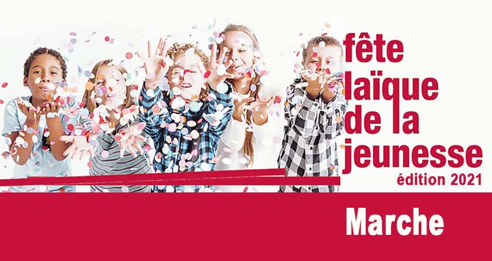 La Fête laïque de la jeunesse de Marche-en-Famenne se déroulera le dimanche 30 mai à 10h