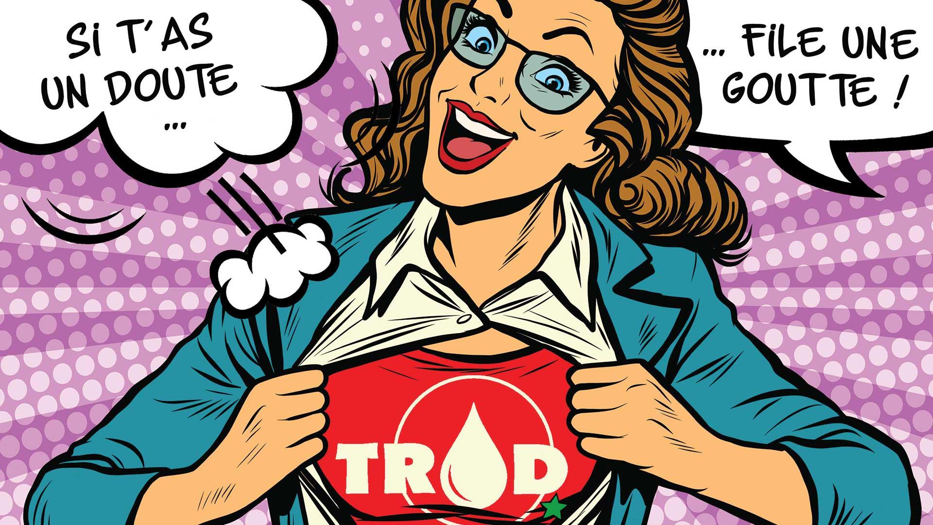 Vous pensez avoir pris un risque il y a plus de trois mois ? Nous organisons pour vous un dépistage du VIH GRATUIT, RAPIDE et CONFIDENTIEL !
