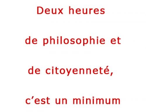 Carte blanche de Véronique De Keyser – Présidente du Centre d'Action Laïque