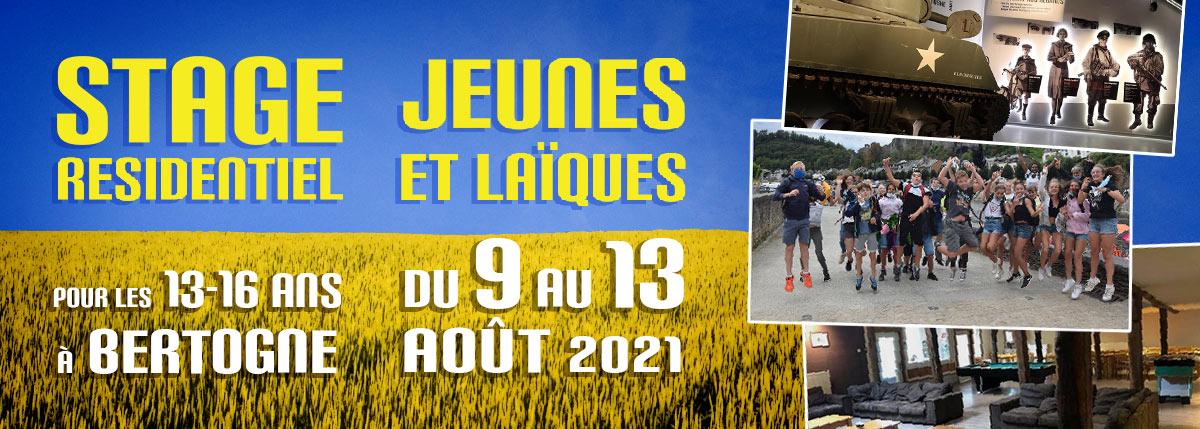 Le CAL/Luxembourg propose un stage d'été pour les 13-16 ans du 9 au 13 aout 2021 à Neufchâteau