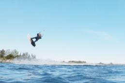Kiteboarding in the Swedish Archipelago