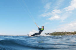 Kiteboarding in the Swedish Archipelago