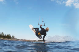 Kitesurfing in the Swedish Archipelago