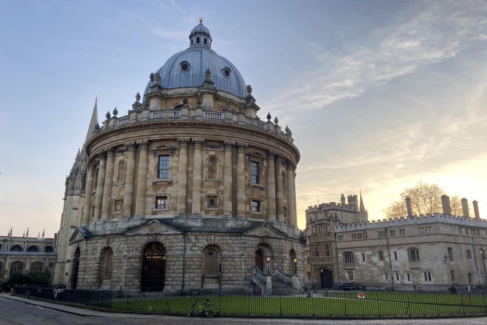 Radcliffe Camera Oxford University prospectus admissions application
