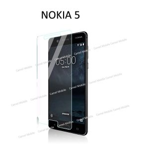 Nokia 5 100% Genuine Tempered Glass Screen Protector-Clear