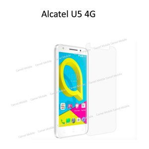 ALCATEL U5 (4G) 100% Tempered Glass Screen Protector-Clear