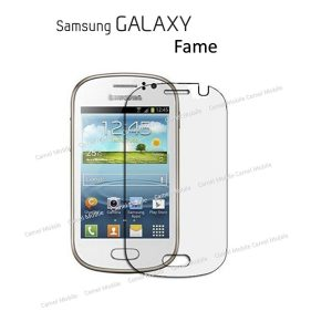 Samsung Galaxy Fame 100% Tempered Glass Screen Protector-clear