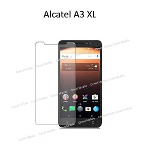 ALCATEL A3 XL 100% Tempered Glass Screen Protector-Clear