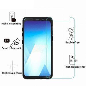 Samsung Galaxy A5 (2018) 100% Genuine Tempered Glass Screen Protector-clear