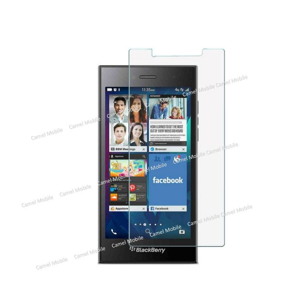 Blackberry Leap 100% Tempered Glass Screen Protector-Clear