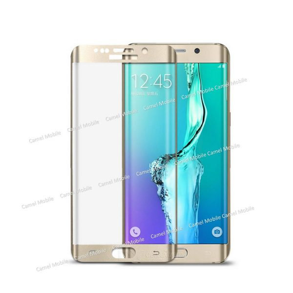 Samsung Galaxy S7 Full Cover 100% Genuine 3D Tempered Glass Screen Protector ?Blue