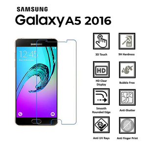 Samsung Galaxy A5(2016) 100% GenuineTempered Glass Screen Protector-clear