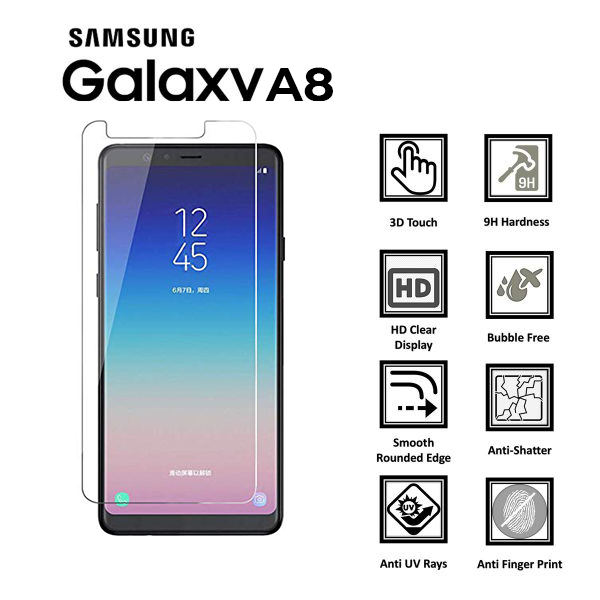 Samsung Galaxy A8-Screen-Protector-Tempered-Glass