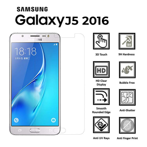 Samsung Galaxy J5 2016 Tempered Glass Screen Protector-clear