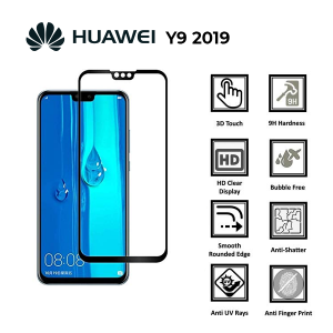 Huawei Y9 2019 100% Genuine Tempered Glass Screen Protector-Clear