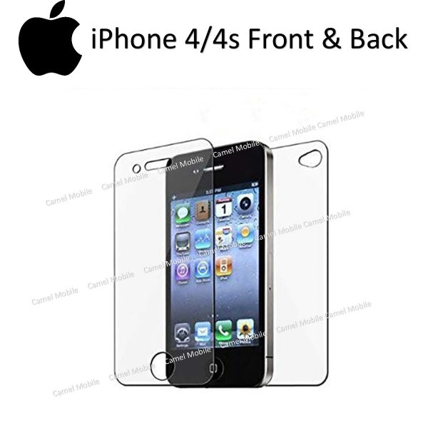 Apple iphone 4/4s 100% Genuine Tempered Glass Screen Protector-clear