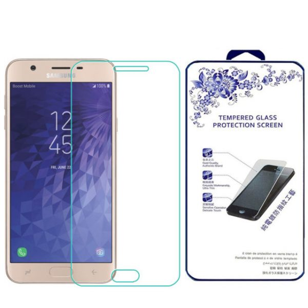 Samsung Galaxy J7 (2018) 100% Genuine Tempered Glass Screen Protector-clear