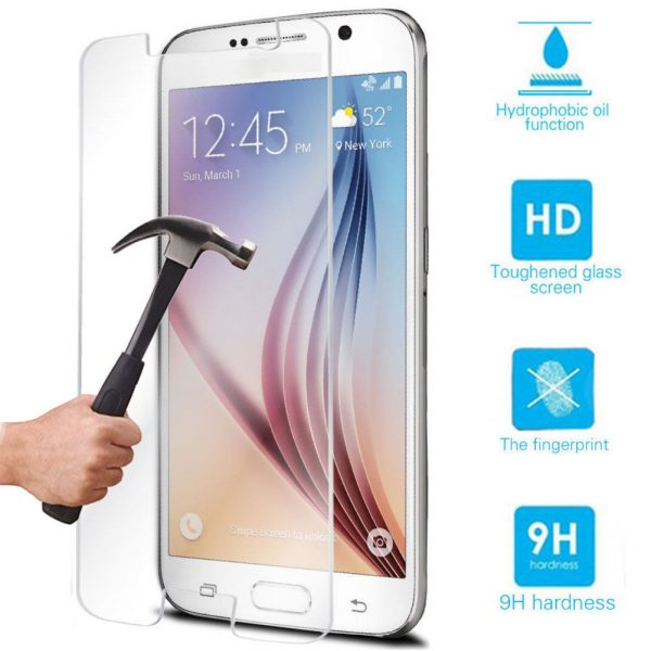 Samsung Galaxy S2 i9200 100% Genuine Tempered Glass Screen Protector ?Clear