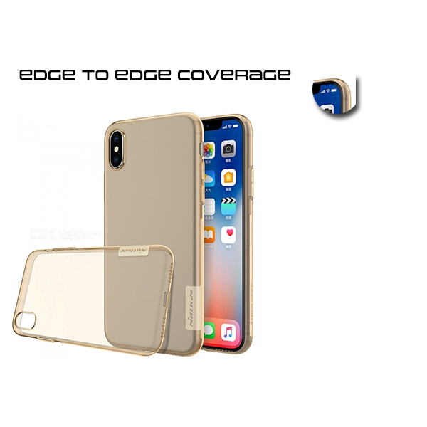 A BETTER MINIMALIST CASE for iPhone X, Ultra Thin [1.5mm] Slim Fit Flexible Soft TPU Case for iPhone X