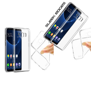 A BETTER MINIMALIST CASE for Samsung-S8, Ultra Thin [1.5mm]  Slim Fit Flexible Soft TPU Case for Samsung-S8
