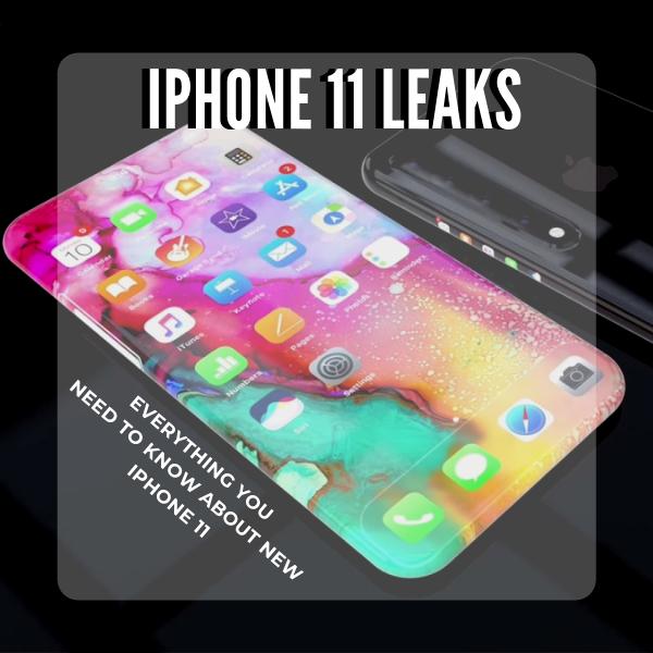 Apple iPhone 11 Leaks: