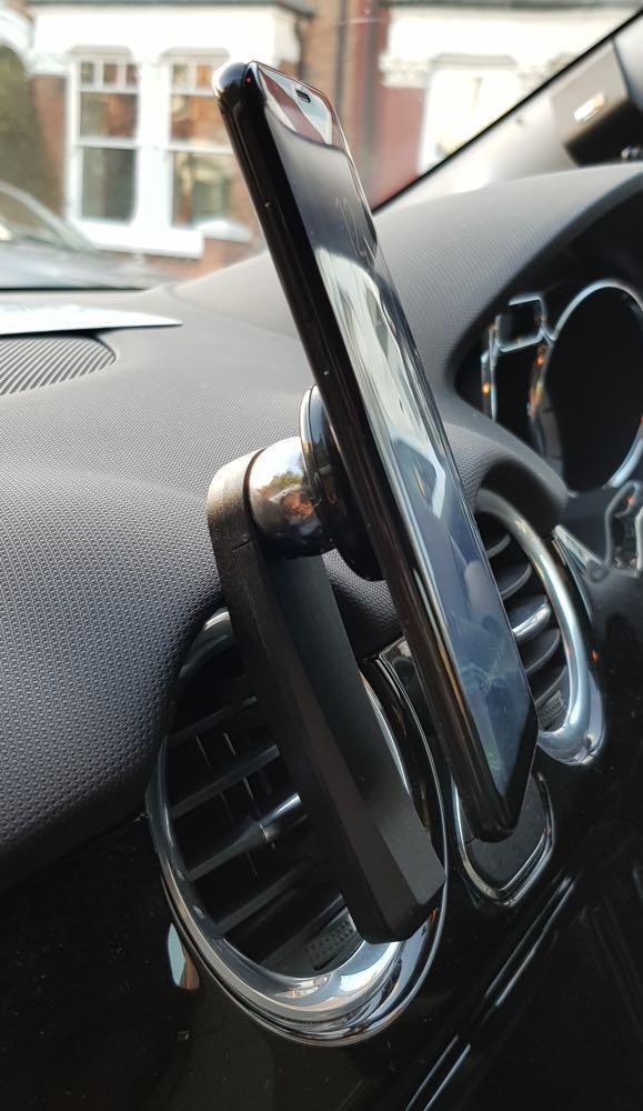 German made car air vent mount magnetic car holder