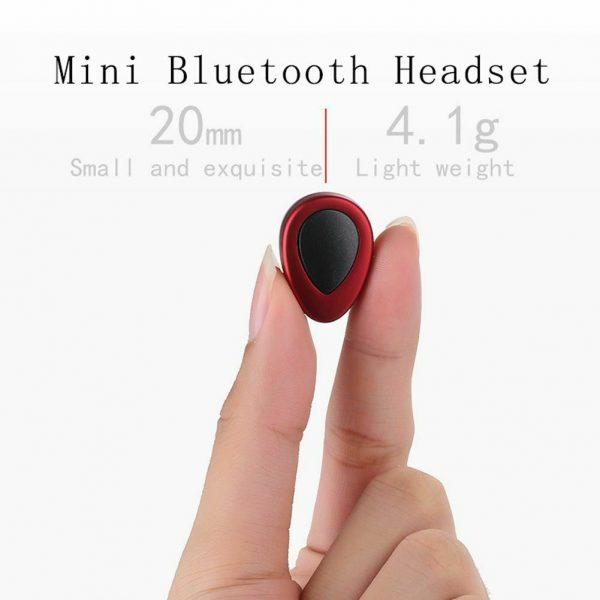 Mini Bluetooth Wireless Headset TWS Earphone Earbud Handfree Mic for iOS Android