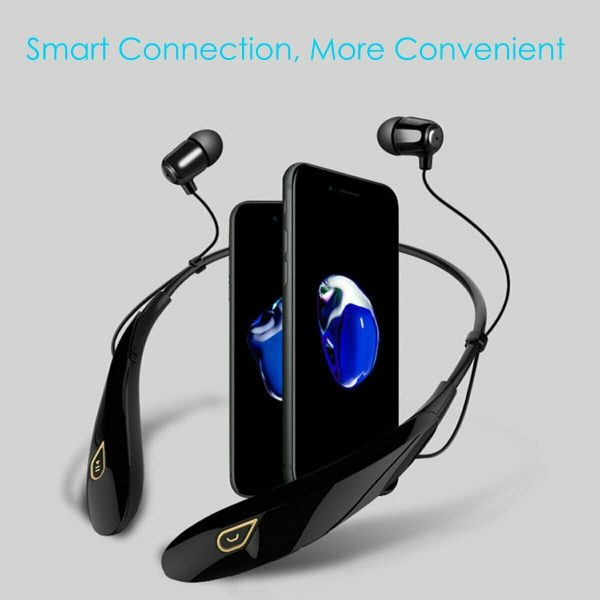 Wireless Handfree Sport Headset Stereo Headphone Earphone for iPhone Samsung New