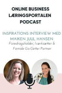 Interview med Maiken Juul Hansen