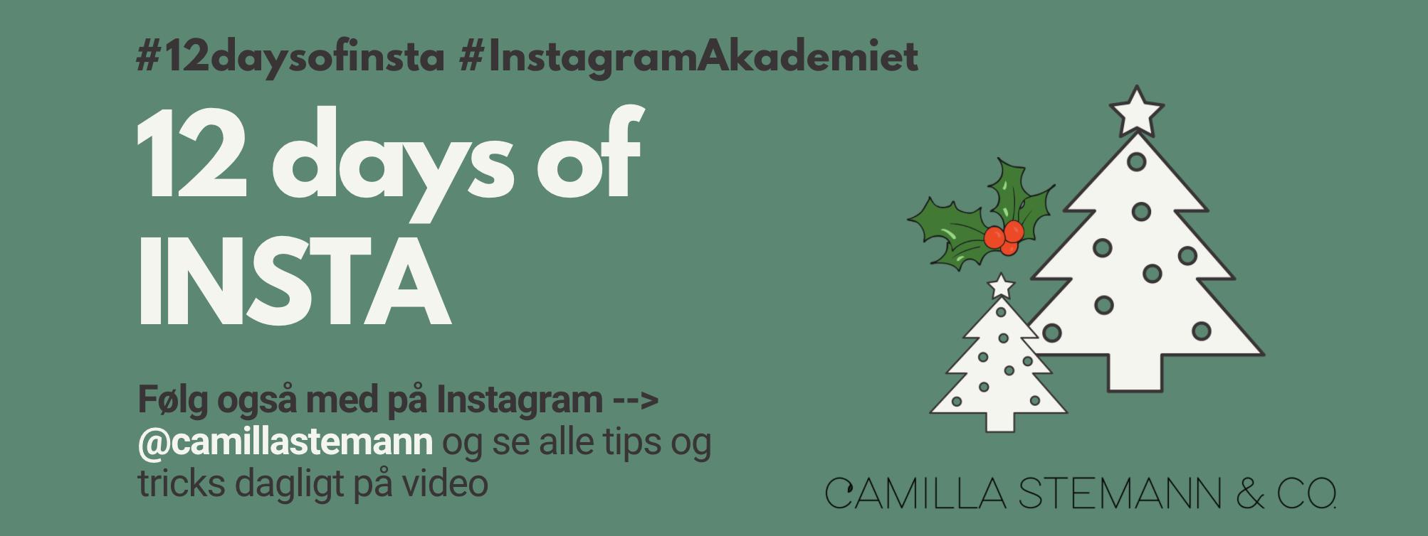 instagram julekalender