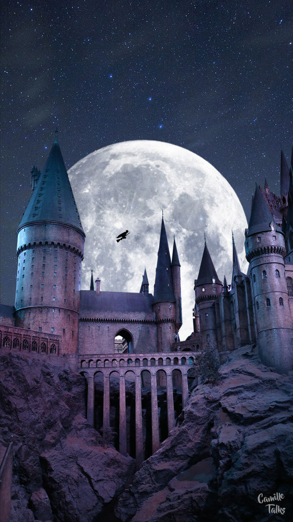 Fond d'écran Harry Potter (montage photo) - Camille Louise
