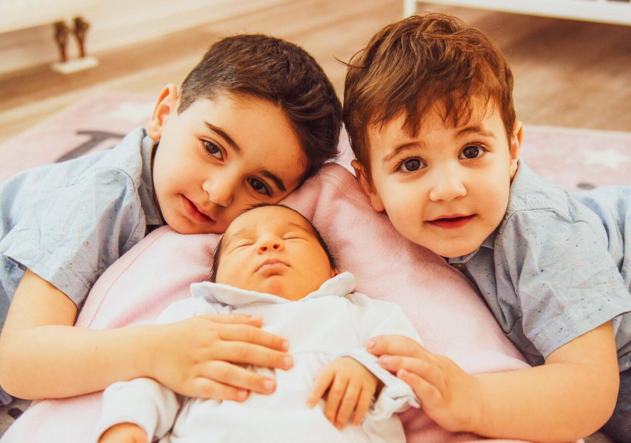 familienfotograf, Fotograf für Neugeborenen Babyfotos