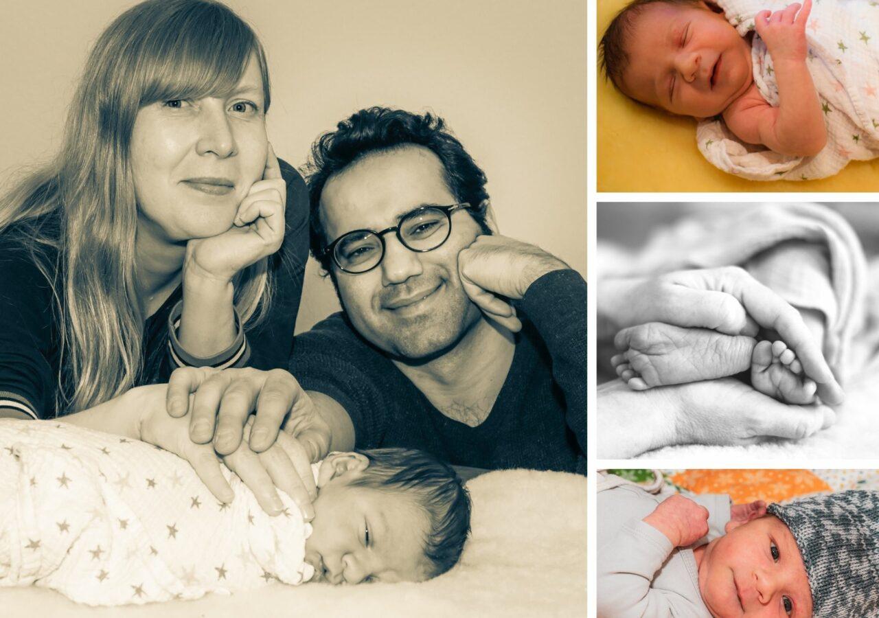 BabyFotos & Neugeborenen Shooting in Stuttgart.