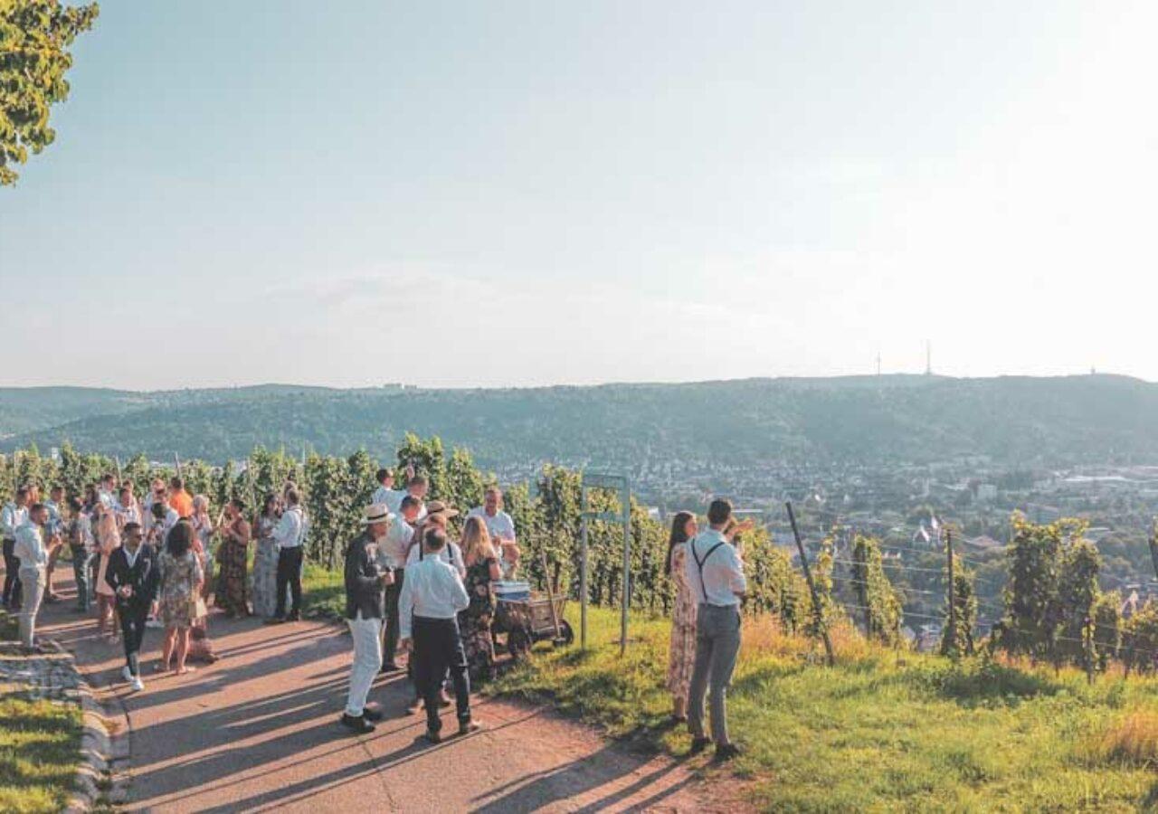Landschaft Panorama Untertürkheim