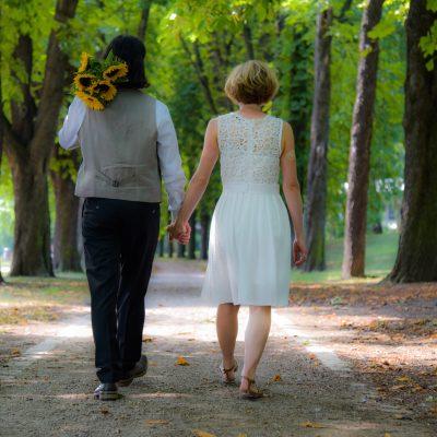 Brautpaar-Shooting in Bad Cannstatt