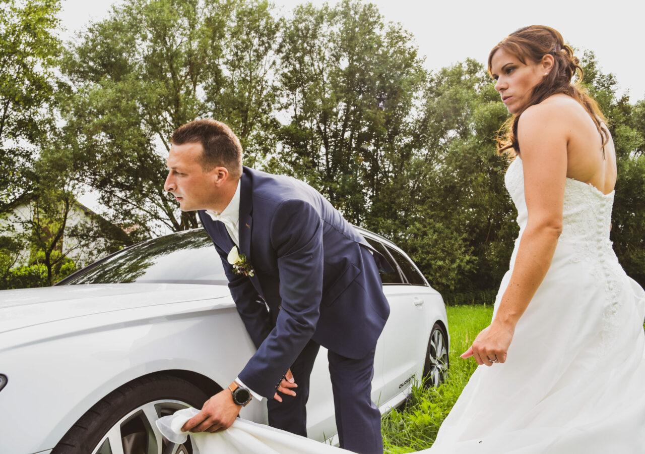 Brautpaar-Shootingin Ludwigsburg