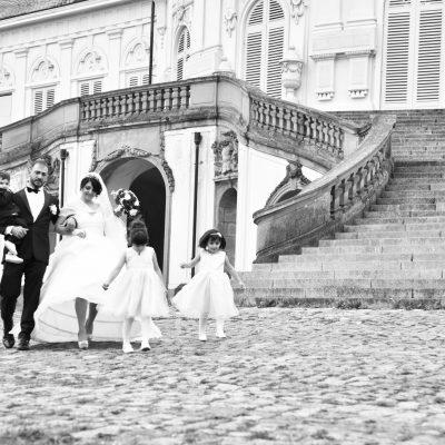 Familie und Brautpaar-Shooting in Schloss Solitude
