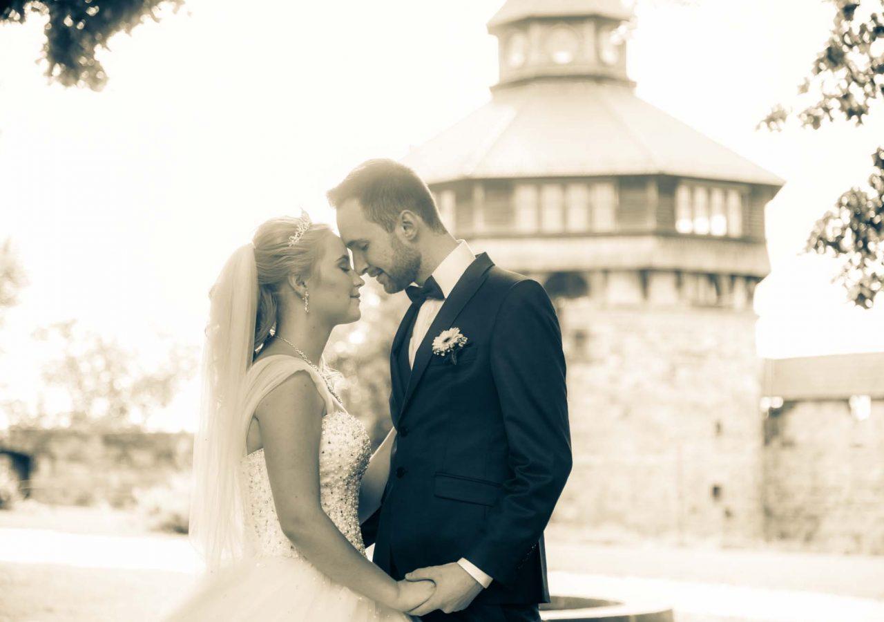 Fotograf Esslingen -Brautpaar in Esslingen Burg