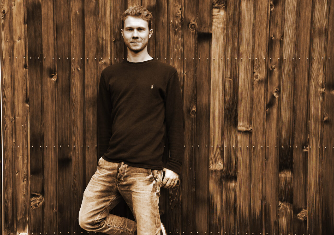 Christian-Sepia Portrait