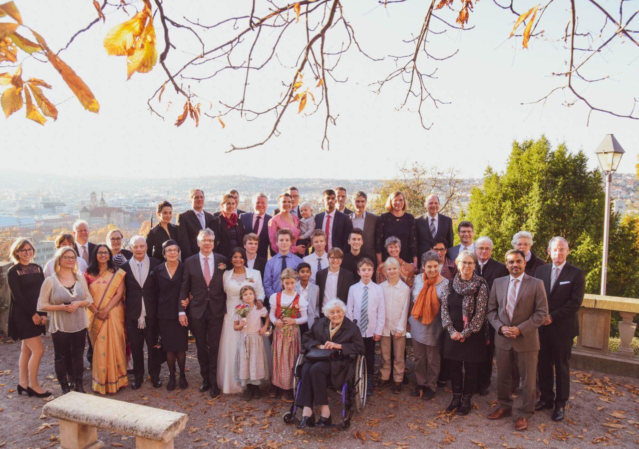 Hochzeit Trauung Gruppenfotos