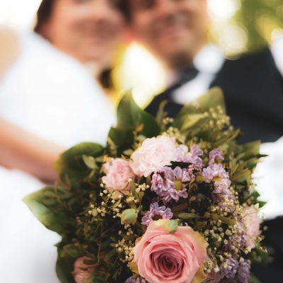 Brautpaar in Esslingen burg