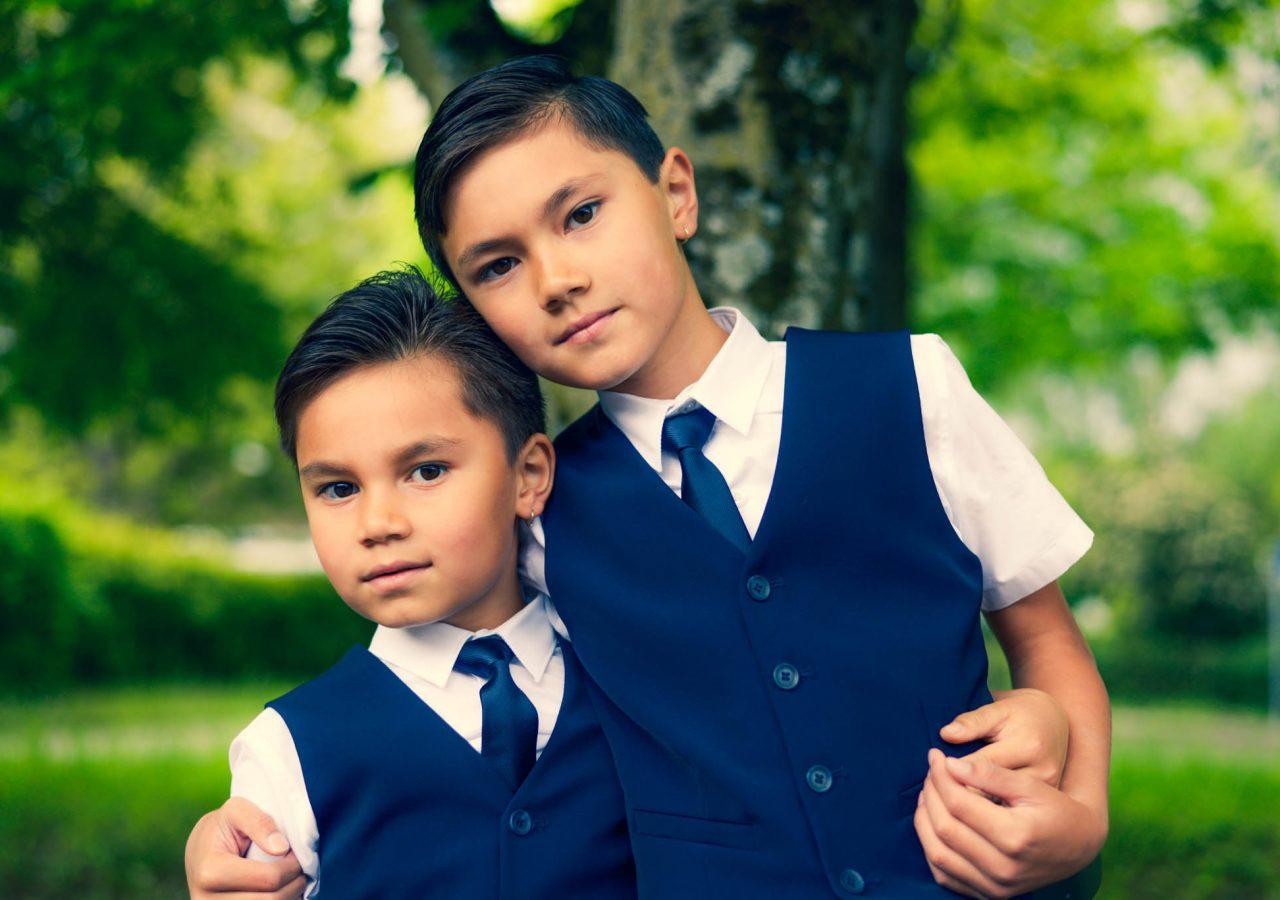 Fotograf Hochzeit. Kinder in Max-Eyth-See