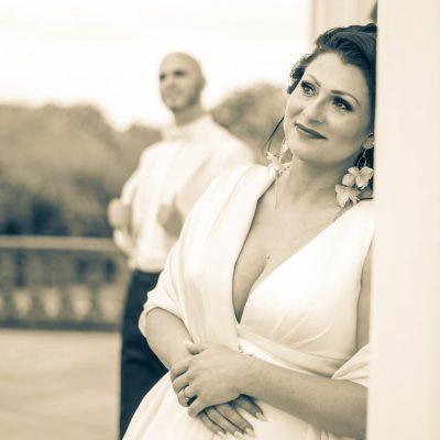 Brautpaar in Schloss Solitude